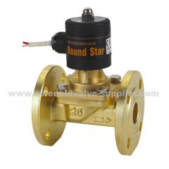 brass magnetic valve for steam