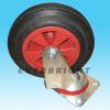 Rubber Wheel with Plastic Core Swivel Caster