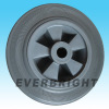 Rubber Wheel with Plastic Core