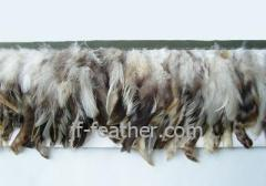 Natural Color Feather Trimming