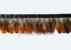 natural colour Feather Trimming