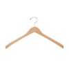 Wooden Jacket Hangers WJH070 (Natural)