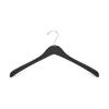 Wooden Jacket Hangers WJH070 (Black)