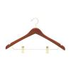 Wooden Jacket Hangers WJH072 (Cherry)