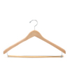 Wooden Jacket Hangers WJH071 (Natural)