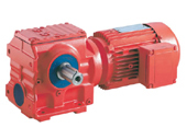 worm geared reducer