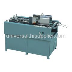 paper box pasting machine
