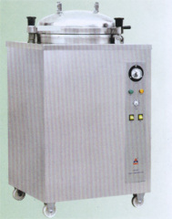 Vertical Round Pressured Steam Sterilizer