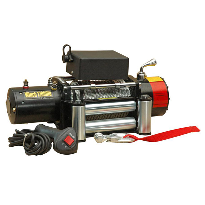 electric winches with 12000lb