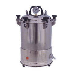 18L Vertical Concave Bottom Autoclave