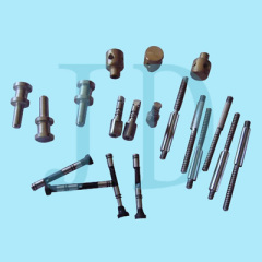 small industrial components turned by cnc auto lathe