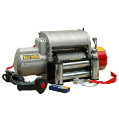 off-road equipment winch