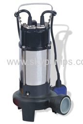 With Cutting System Sewage Pumps