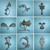 Cast Iron Ornaments