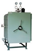 Manual operation pressure steam sterilizer