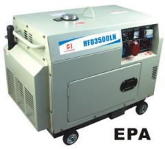 slient  diesel generator set