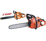 electric powered chain saw