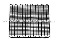 Condenser with bundy tube for refrigerator
