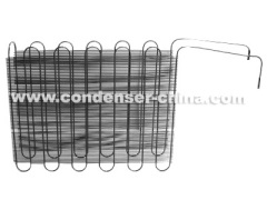 tube Condenser for refrigerator with steel wires