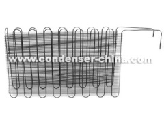 Condenser for water dispenser and refrigerator