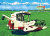 Fully-Feed Rice And Wheat Combine Harvester