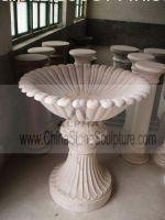 Marble Flowerpot