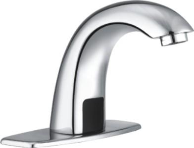 chrome sensitive faucet