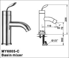 clawfoot basin faucet
