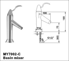 wall mount tap