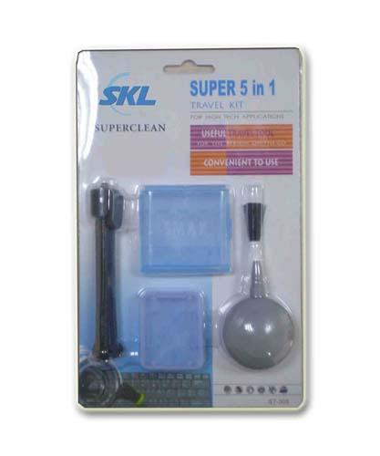Super 5 in 1 Travel Kit