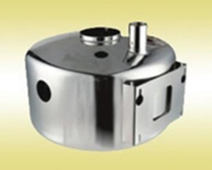 stainless steel milk gathering tank