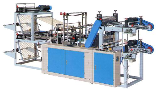 T-shirt bag  rolled bag making machine