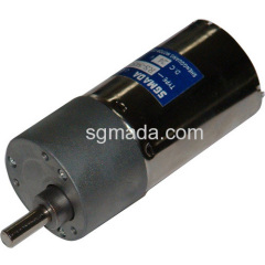 Dc motor with Zinc geared box