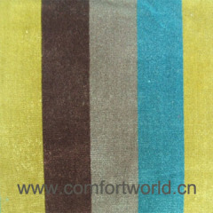 Stripe Cut Pile Fabric