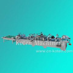 folding and gluing machinery