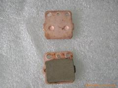Copperized Brake Pad