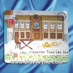 plastic mouse pad