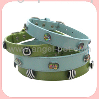 buttons dog collars