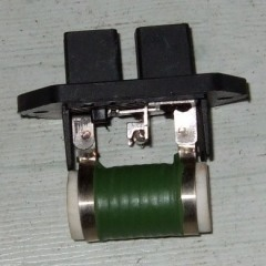 resistor for fan motor