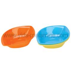 two-color melamine dinnerware