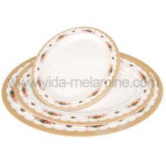 soup oval plate