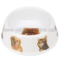 melamine pet bowl