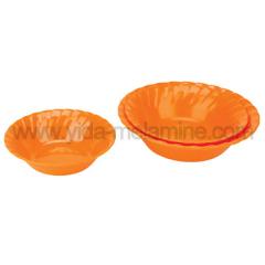 melamine colorful bowls