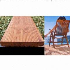 Strand Outdoor Deck Made of 100% Moso Bamboo