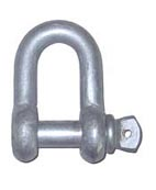 Screw Pin Chain Shackle US Commercial Type