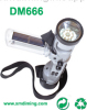 Solar Power Flashlight With AM/FM Radio