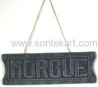 """""""MORGUE"""" HANGING"""