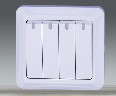 4 Gang Switch Box From China Manufacturer Zhejiang