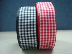 plaid ribbon