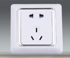 Tthree pin sockets